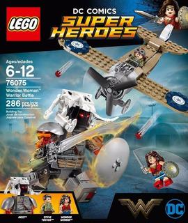 Lego Super Heroes 76075 Wonder Woman 286 Pcs