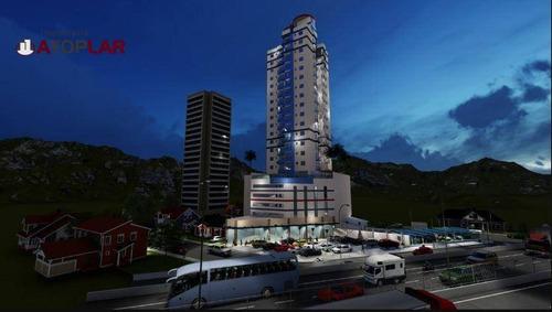 Apartamento Com 2 Dormitórios À Venda, 71 M² - Meia Praia - Itapema/sc - Ap1619