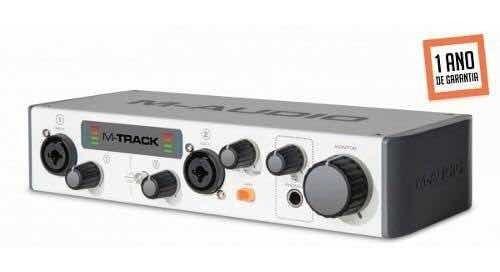 Interface M-audio M-track Ii 2 Canais M Audio