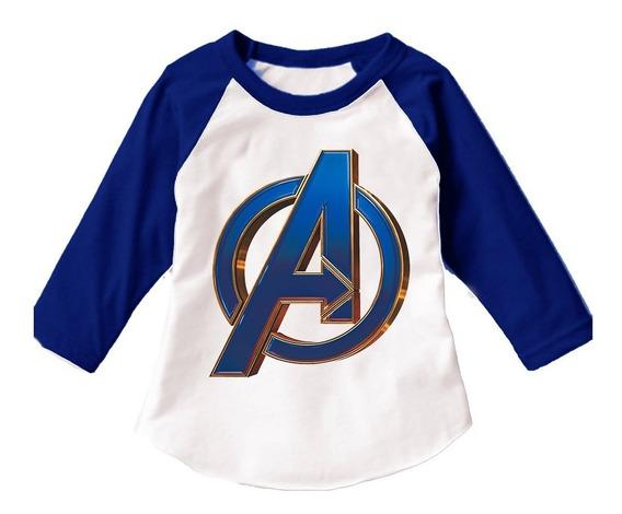 Playera Para Niño Y Niña, Superheroes, Marvel - Dc Varios