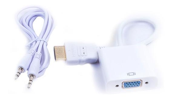 Cable Adaptador Convertidor Hdmi A Vga Naceb Na-235 /a