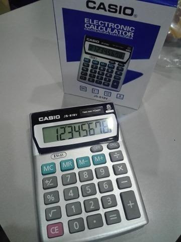 Calculadora Casio Js-818v Bateria 8 Digitos Detal Y Mayor