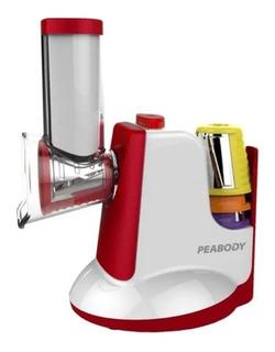 Rallador Eléctrico Peabody 5 Cuchillas + Accesorios Pe-sm326