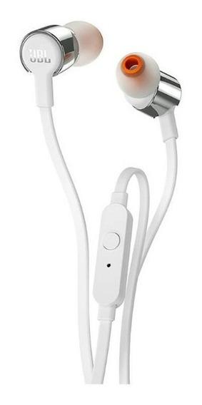 Fone De Ouvido Headset Jbl T210 Prata