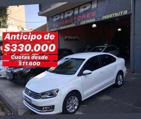 Volkswagen Polo 1.6 Comfortline 2017, $330.000 Y Cuotas