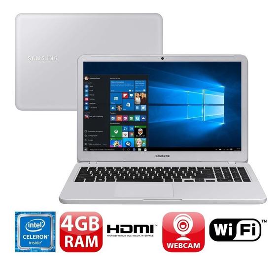 Notebook Samsung Dual Core 4gb 500gb Tela 15.6 Windows 10 Es