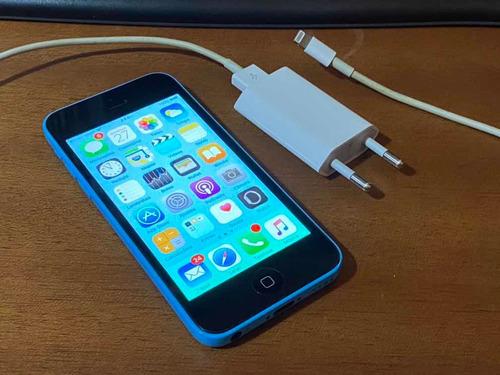 iPhone 5c Azul 8gb - Frete Grátis
