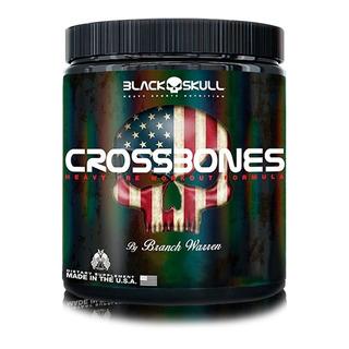 Pré-treino Crossbones 150g Black Skull - Damasco