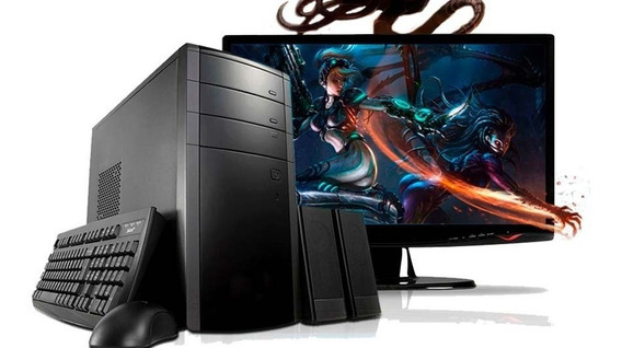 Kit Pc E Monitor Core I3 4gb,250gb+monitor 17 Lcd-brindes