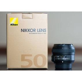 Nikon Af-s Nikkor 50mm F / 1.8g Lente Buque De Estados