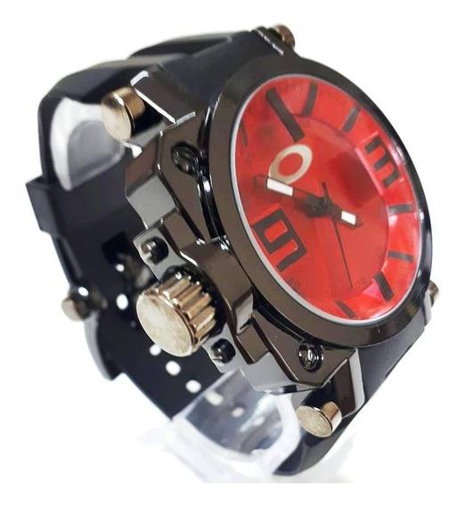 Relógio Oakley Analógico Masc. Titanium+caixa Preta - Barato