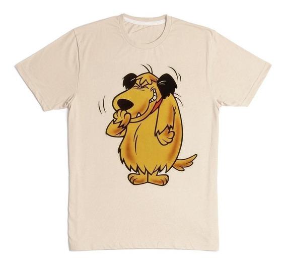 Camiseta Masculina Rabujento Desenho Cor Palha Estampada