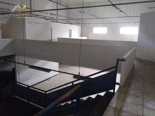 Galpão Para Alugar, 3600 M² Por R$ 50.000,00/mês - Casa Branca - Santo André/sp - Ga0046