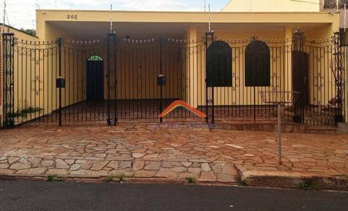 Casa Com 3 Dormitórios À Venda, 208 M² Por R$ 450.000,00 - Parque Dos Bandeirantes - Ribeirão Preto/sp - Ca1570