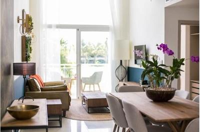 Penthouse En Venta En Lake Village, Bavaro- Punta Cana