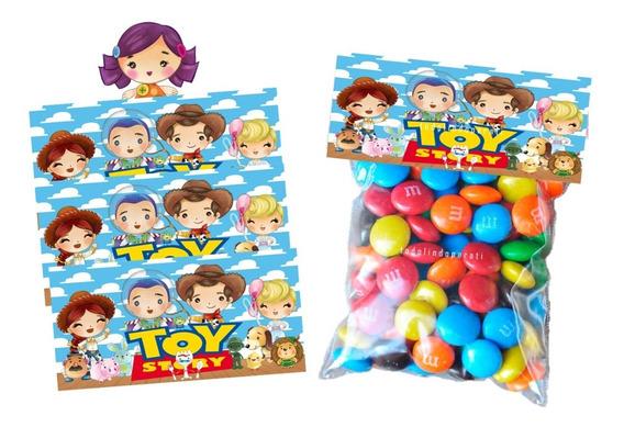 Cartoncillo Para Bolsa De Dulces Toy Story Mesa De Dulces