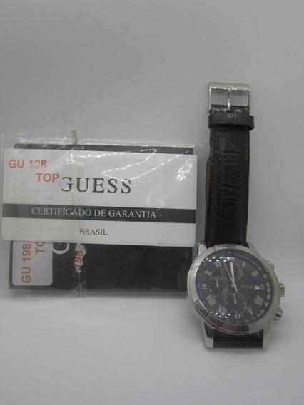 Relógio De Pulso Guess Steel Análogo Masculino