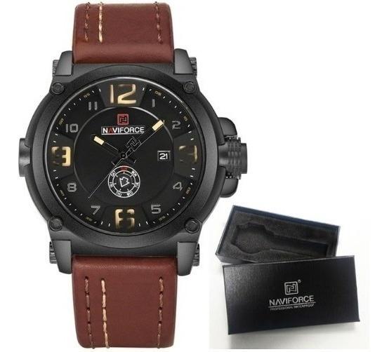 Relógio Masculino Naviforce Militar Esportivo Promoção