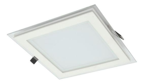 Plafon Painel Quadrado Slim Embutir Led 17w Lm1052b