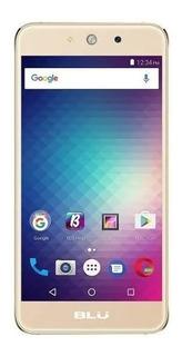 Celular Blu Grand M Dual Sim 3g Tela 5.0 Dourado Na Caixa