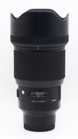 Lente Sigma Art 85mm F/1.4 Para Sony