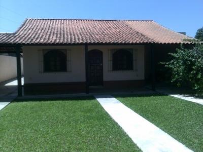 Casa Em Jardim Solaris, Iguaba Grande/rj De 110m² 3 Quartos À Venda Por R$ 210.000,00 - Ca102464
