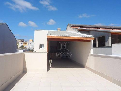 Cobertura Residencial À Venda, Jardim Santo Antônio, Santo André. - Co2336