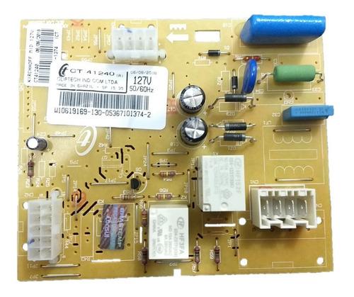 Controle Eletrônico Freezer Brastemp Cj 127v W10619169