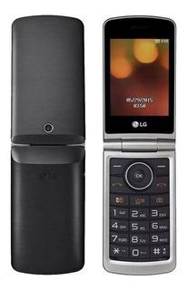 LG G360 Dual SIM 32 MB Preto 8 MB RAM