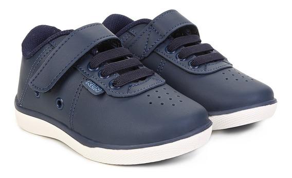 Tênis Menino Klin College Velcro 1480/ Gaby Calçados