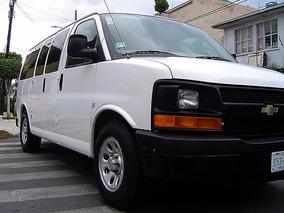 Chevrolet Express Van Ls 2012 12 Pasajeros