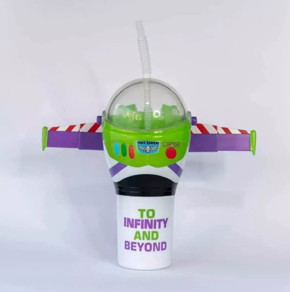 Vaso Buzz Lightyear Cinemex Toy Story 4 Nuevo Sellado