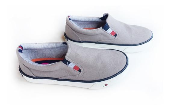 Panchas Tommy Hilfiger Zapato Zapatilla Nene Talle 11 Usa (27 Arg Aprox)
