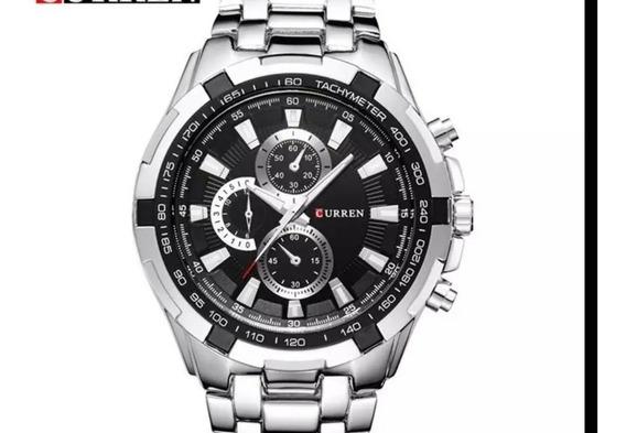 Relógio Masculino Inoxidável Curren 8023 Original