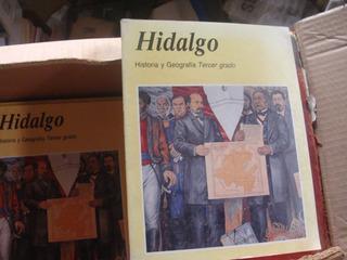 Cod5 Hidalgo Historia Y Geografia Tercer Grado , Año 1994