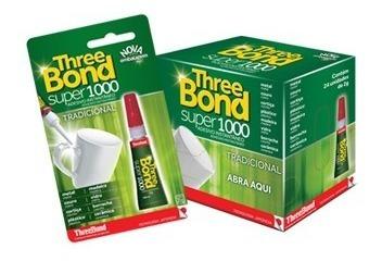 Cola Instantânea Three Bond 2g Cx C/ 24 Unid. Cada Sai 1,19