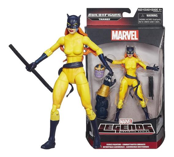 Mll56 Felina (hellcat) Marvel Legends Infinite Avengers Than