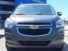 Chevrolet Spin Lt 5 A 100% Financiada $ 77242 Y Ctas S/ Int.