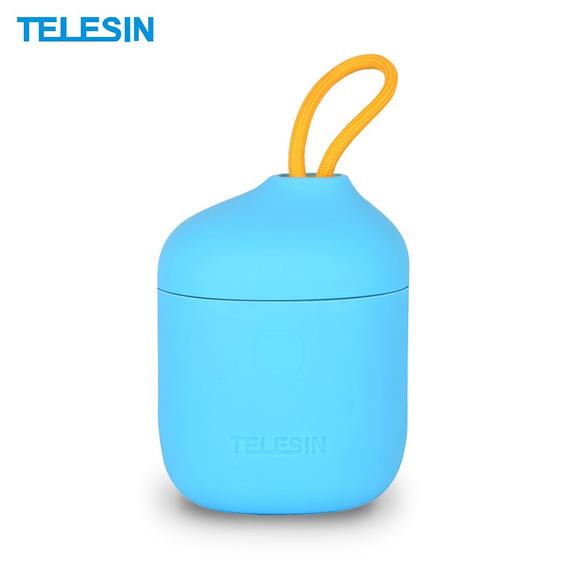 Telesin 3 Em 1 Carregador Bateria Câmera Multifuncional Com