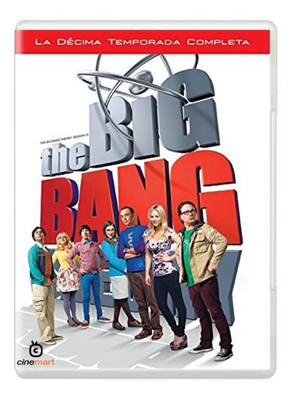 The Big Bang Theory Decima Temporada 10 Serie Dvd