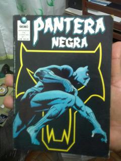 Hq Pantera Negra Editora Globo Serie 1° / 2 Ano De 1990