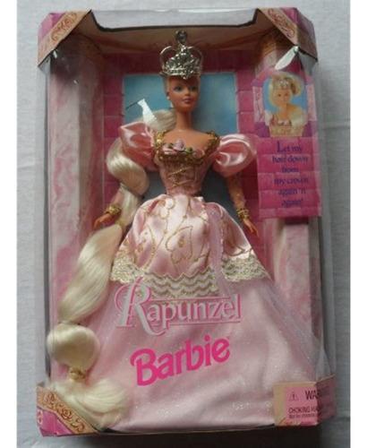 Muñeca Barbie Mattel Rapunzel (1997)