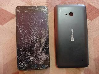 Celular Microsoft Nokia Lumia 640 Rm-1074 Com Tela Quebrada