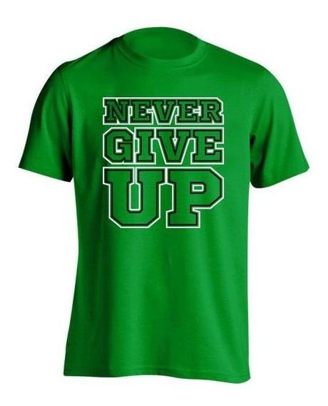 Remera Niña Wwe John Cena Never Give Up