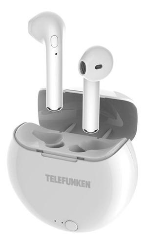 Imagem 1 de 4 de Fone De Ouvido Telefunken Bluetooth Tws Earbuds Tf-ph320 Bra