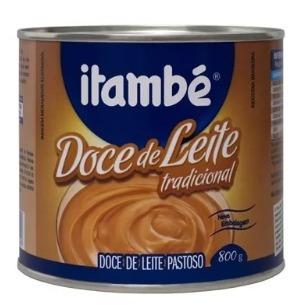 Doce De Leite Tradicional 800g Itambé Lata Kit C/6 Promoção