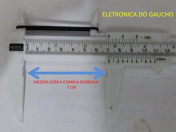 Kit Correia 2x 7cmm/1mm 2x 7,5mmx1mm Cds Dek Dvd