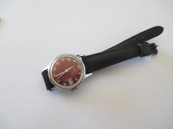 Antigo Timex À Corda - Funcionando