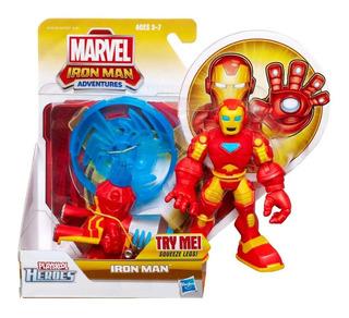 Iron Man Muñeco Adventures Figura De Acción Original Hasbro
