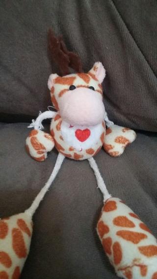 Pelúcia Girafa Love Miniatura